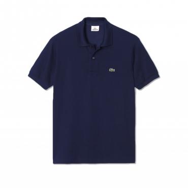 Polo classic fit con logo 166