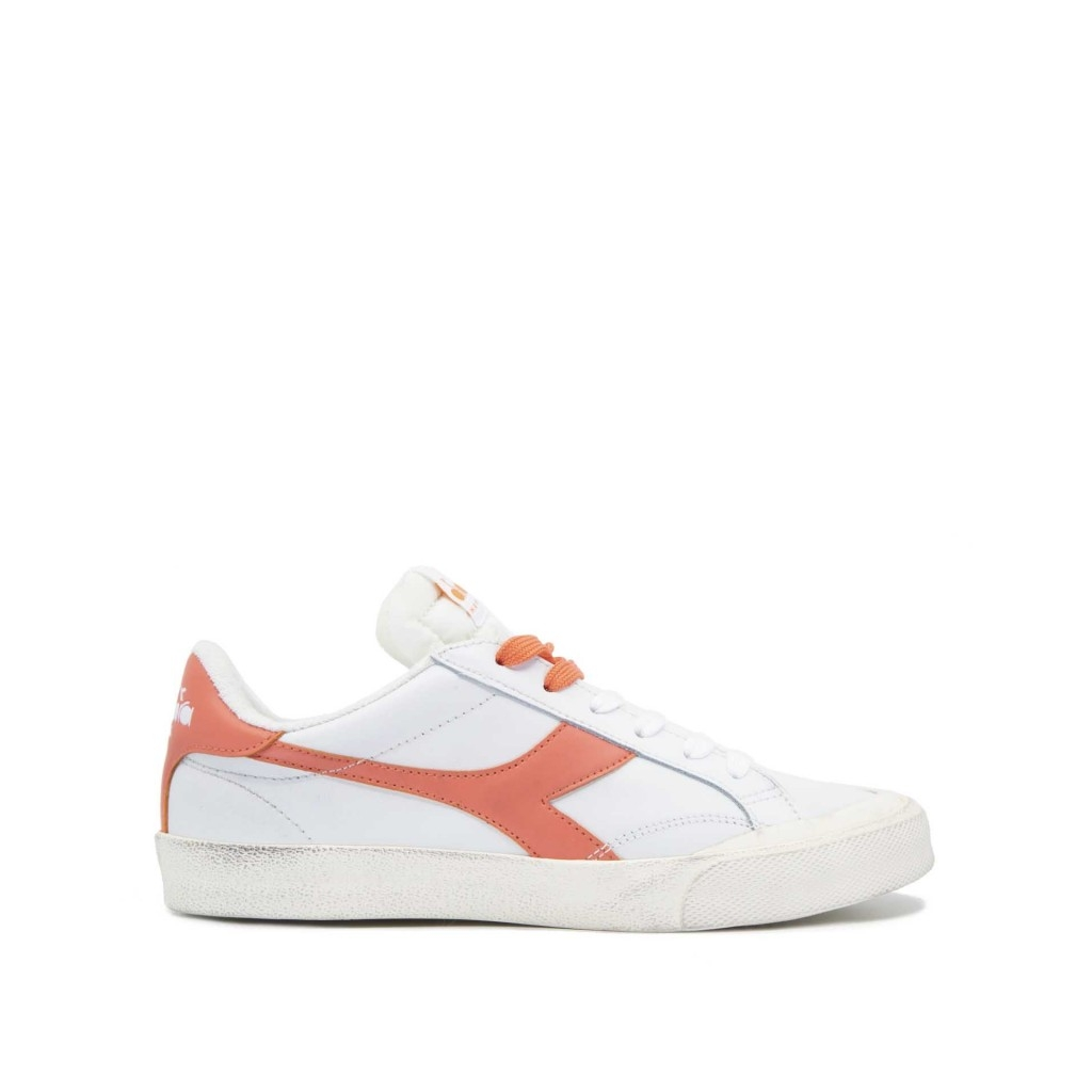 Diadora Sneakers Heritage Melody Leather Dirty 8098 Scarpe |Bow