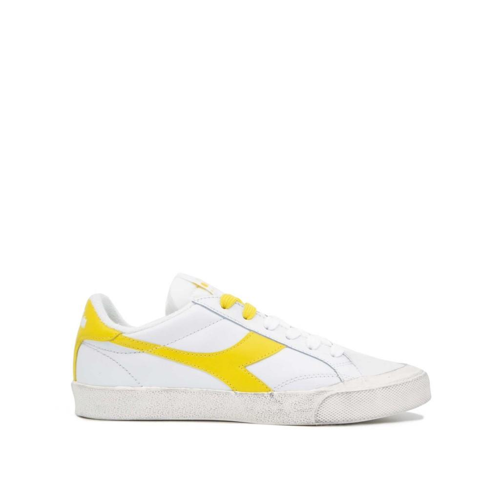 Diadora Sneakers Heritage Melody Leather Dirty 2409 Scarpe |Bow