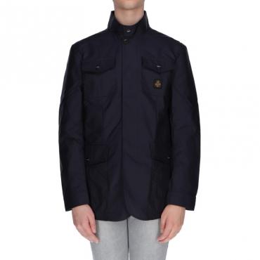 Giubbotto aaron jacket BLU NOTTE