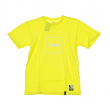 MAGLIETTA ESSENTIALS BOX LOGO AURORA YELLOW