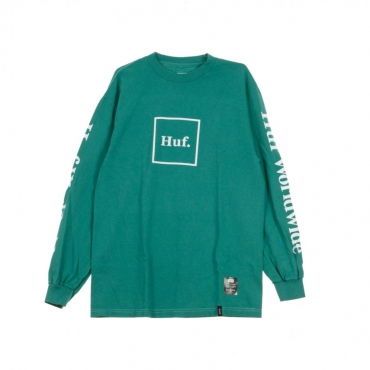 MAGLIETTA MANICHE LUNGHE DOMESTIC L/S TEE DEEP JUNGLE