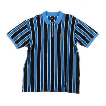 POLO MANICA CORTA RADAR CLASSIC ZIP POLO SKY BLUE MULTI