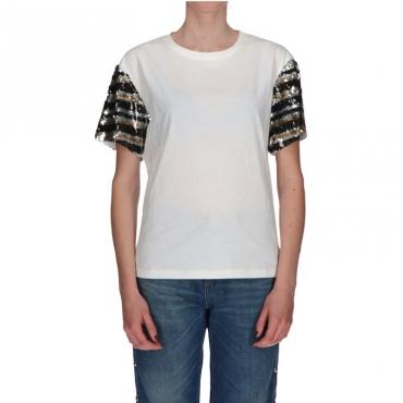 Tshirt stampa n01 BIANCO