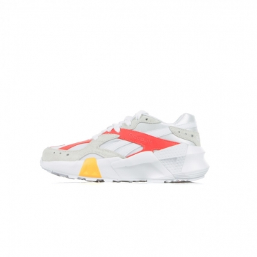 AZTREK DOUBLE 93 WHITE/TRUE GREY/RED/GOLD