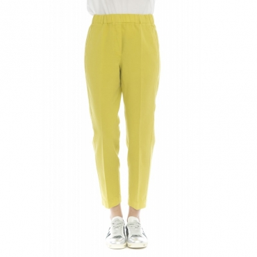 Pantalone donna - 176647 d6207 lyne/d chino-lino 319 - Limone