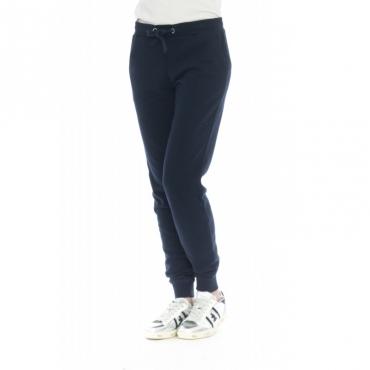 Pantalone donna - F19217 pantalone felpa 07 - Navy