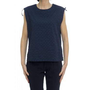 T-shirt donna - Eliana 4320 W1715 - Blu