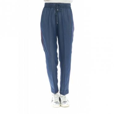 Pantalone donna - Minger pantalone jogging chambre 390 - Jeans