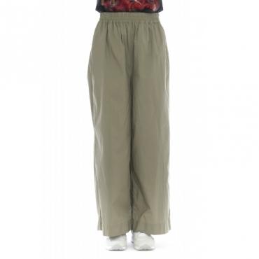 Pantalone donna - Wwpan1245 6276 - Verde salvia