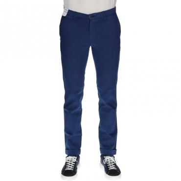 Pantalone sartoriale slim fit BLU