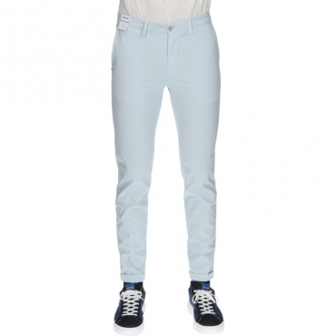 Pantalone sartoriale slim fit AZZURRO