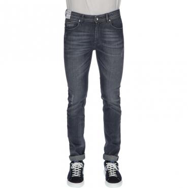 Jeans sartoriale slim fit GRIGIO
