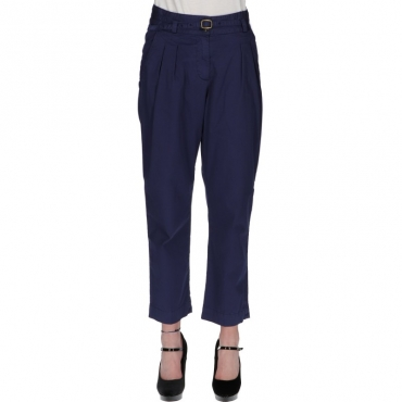Ws stretch satin pant BLU