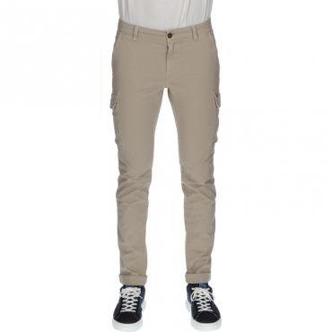Pantalone con tasconi modchile BEIGE