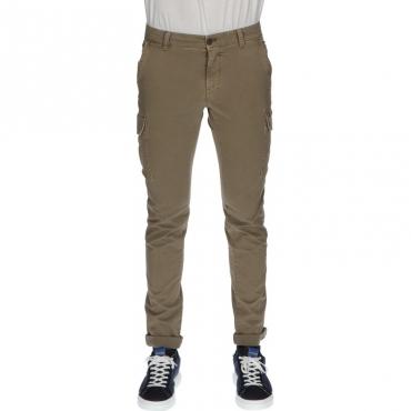 Pantalone con tasconi modchile NOCCIOLA