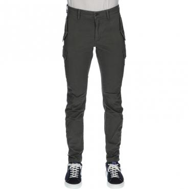 Pantalone con tasconi modbolivia VERDE MILITARE