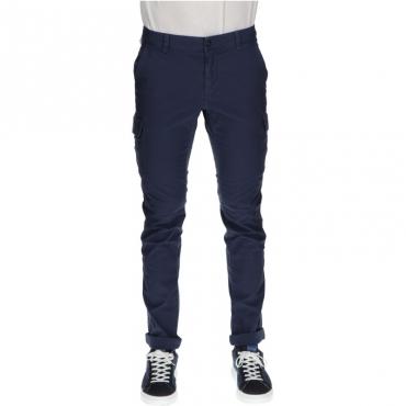 Pantalone con tasconi modchile BLU