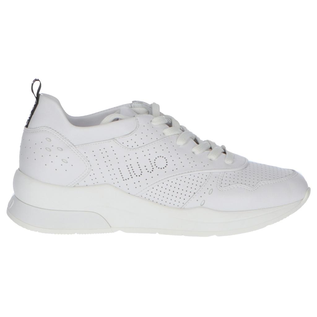 designer fashion 4aef1 7c9b9 LIUJO - SCARPE LIUJO KARLIE 14 SNEAKER WHITE UNICO - Scarpe |Bowdoo...