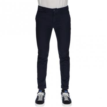 Pantalone slim sartoriale BLU NOTTE