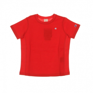MAGLIETTA CREWNECK TEE HIRE RED
