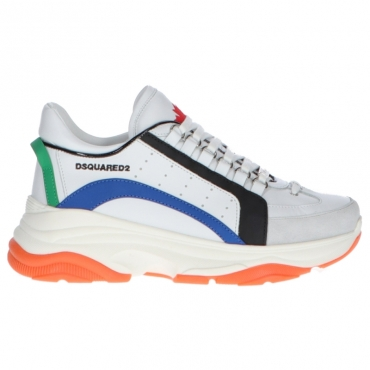 Sneakers Bumpy Dsquared2 Bianco