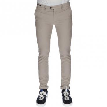 Pantalone slim sartoriale TORTORA