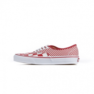 SCARPA BASSA AUTHENTIC MIX CHECKERBOARD/CHILI PEPPER