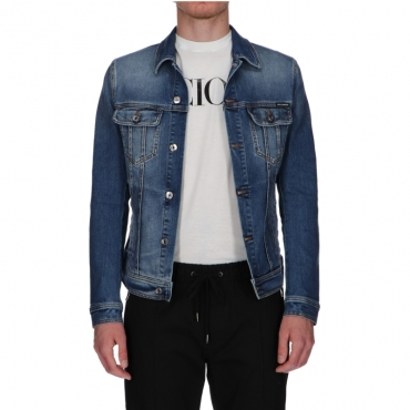 Giubbino in Jeans Dolce  Gabbana BLUE DENIM