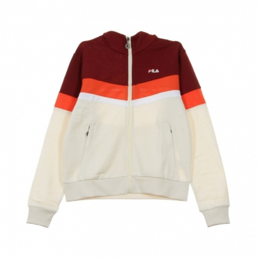TRACK JACKET NANTALE RHUBARB/GREY/FIESTA ORANGE/BRIGHT WHITE