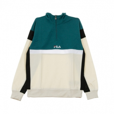 FELPA HALF ZIP HERRON HALF ZIP TOP SHADED SPRUCE/BLACK/GREY