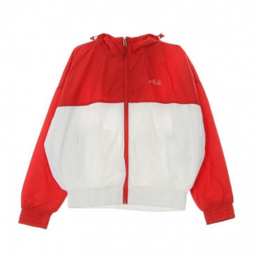 WINDBREAKER RAY WIND JACKET TRUE RED/BRIGHT WHITE