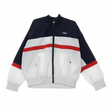 WINDBREAKER KAYA BLACK IRIS/BRIGHT WHITE/TRUE RED