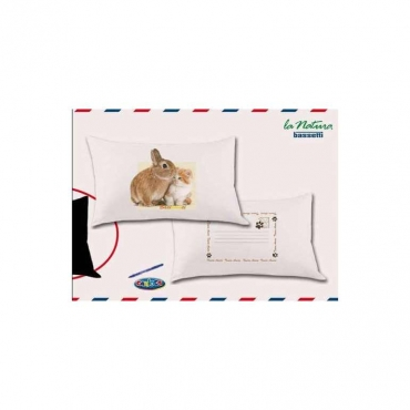 Federa per cuscino Fantafedera Little Friends cm 50x80  UNICO