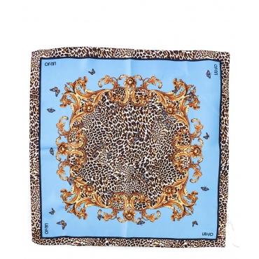 Foulard stampato Blue