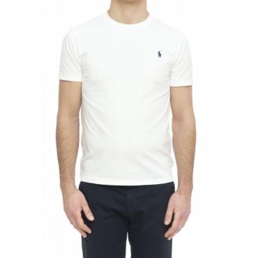 T-shirt uomo - 680785 t-shirt logo 003 - Bianco
