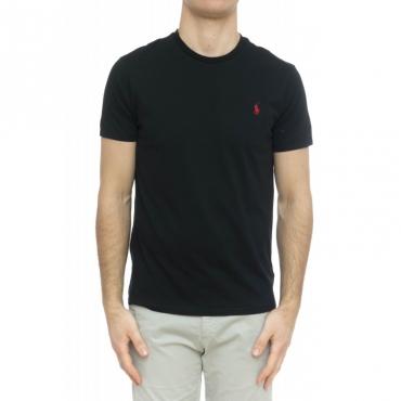 T-shirt uomo - 680785 t-shirt logo 001 - Nera