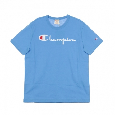 MAGLIETTA CREWNECK TEE LIGHT BLUE