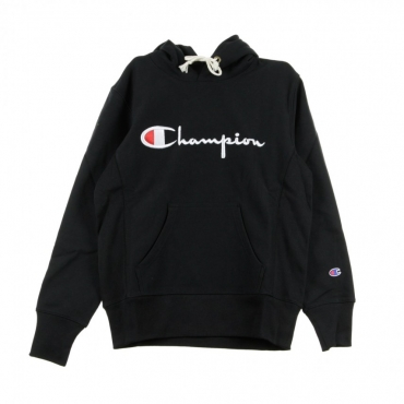 FELPA CAPPUCCIO HOODED SWEATSHIRT BLACK