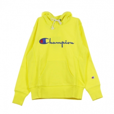 FELPA CAPPUCCIO HOODED SWEATSHIRT YELLOW