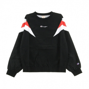 FELPA GIROCOLLO CREWNECK SWEATER BLACK/WHITE