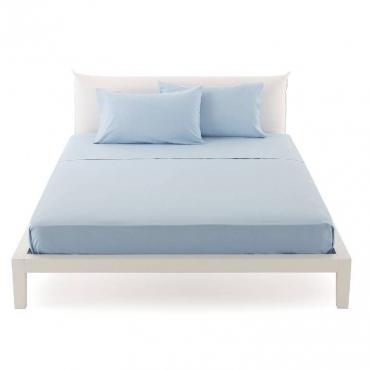 Lenzuolo Singolo  per sopra pantone azzurro cm 160x290 UNICO