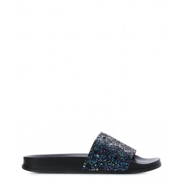 Slides Lombock Black