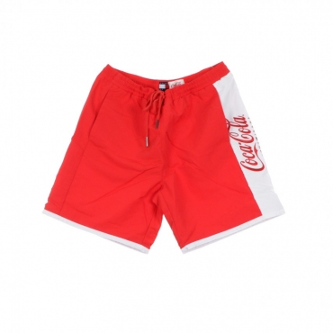 COSTUME TOMMY X COCA COLA SHORT RED/BRIGHT WHITE