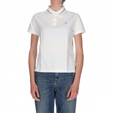 Polo Tommy Hilfiger Donna Classic Polo 100 WHITE