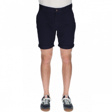 Short Tommy Hilfiger Uomo Essential Chino 002 BLACK IRIS