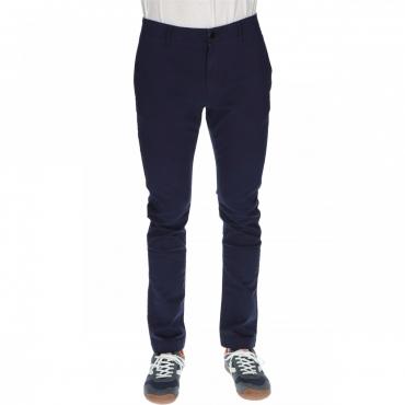 Pantalone Tommy Hilfiger Uomo Essential Slim Chino 002 BLACK IRIS