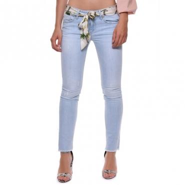 b941cc57ac Liu jo. Jeans con fusciacca catena DENSTBLBELT