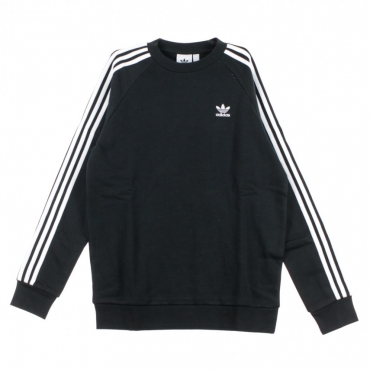 FELPA GIROCOLLO 3-STRIPES CREW BLACK