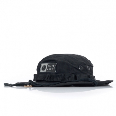 CAPPELLO DA PESCATORE ALPHA STAMPED BUCKET BLACK